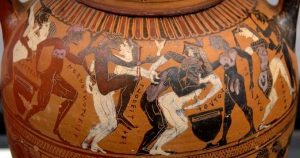 Etruscan vase Roma