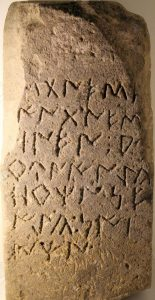 Iberian inscription, enigmatic language
