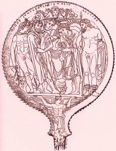 Tuscania mirror